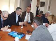 Линта са сарадницима одржао састанак код комесара за избјеглице и миграције Владимира Цуцића