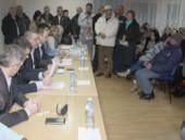 Савез Срба из региона организовао трибину у Mјесној зaједници Ветерник у Новом Саду 18. јануара 2016. године
