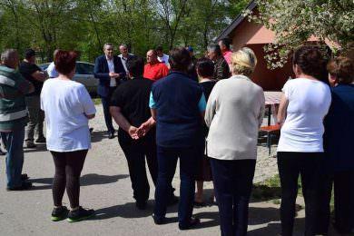 Одржан састанак са прогнаним Србима у насељу Владимировац (општина Алибунар)