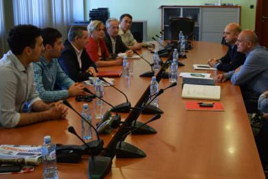 Одржан састанак код директора Завода за изградњу града Новог Сада