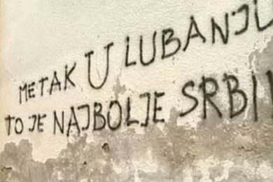 Линта: Нови увредљиви и претећи графити у Хрватској упућени Србима