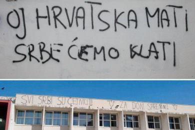 Линта: Србомрзачки графити у Шибенику представљају нормалну појаву у том граду и широм Хрватке