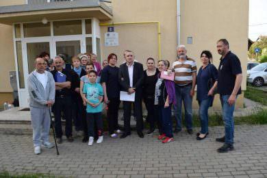 Линта одржао састанак у Чачку поводом покушаја избацивања избјегличке породице Матрак из СИРП-овог стана