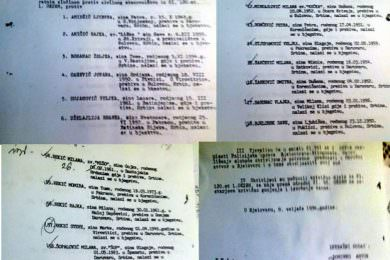 Линта: Издавање налога за привођење 76 Срба из бјеловарског краја представља наставак лова на протјеране Србе