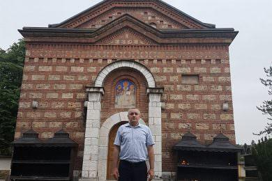Линта посјетио задужбину Владике Николаја Велимировића манастир Лелић код Ваљева