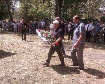 Mеморијалном гробљу Шушњар