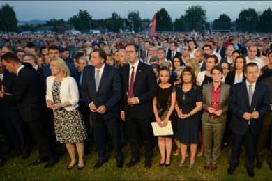 """У Ветернику одржана централна комеморација Дан сjећања на жртве """"Олује"""""""