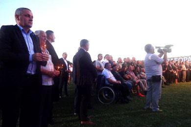 Миодраг Линта на Државној манифестацији Дана сјећања на страдале и прогнане Србе у Ветернику