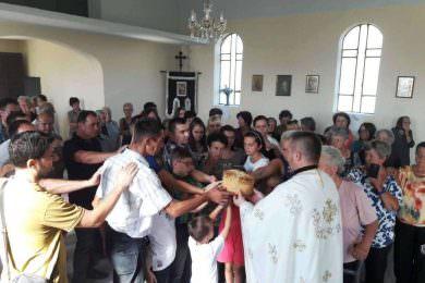 Прослављено Преображење у селу Рајић код Новске