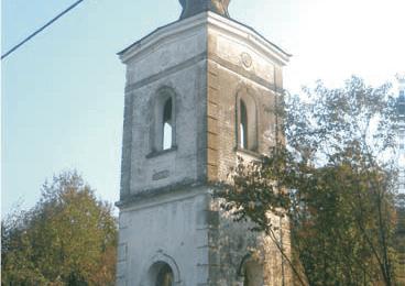 Цркве и звоници у селима Смуде, Ћералије и Ријенци у општини Воћин од Другог свјетског рата нису обнављани