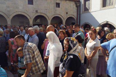 Прослављено Преображење Господње у манастиру Крка