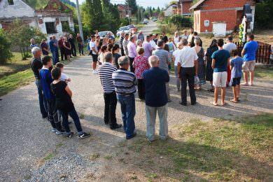 Прослављен празник Велика Госпојина у селу Бодеграј (општина Окучани)