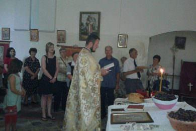 Прослављено Преображење у Доњим Мељанима, код Подравске Слатине