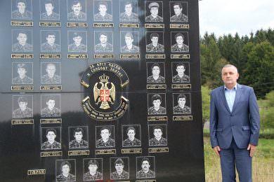 Линта посјетио Спомен-обиљежје у селу Ситници код Рибника подигнут погинулим борцима овог краја