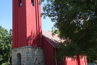 Обновљен православни храм Светих 318 богоносних отаца у Воћину