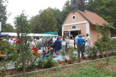 Прослављена Велика Госпојина у селу Крештеловац, поред Дарувара