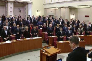 Линта: Европска унија није осудила срамну али очекивану одлуку Хрватског сабора да одржи минут ћутње ратном злочинцу Слободану Праљку