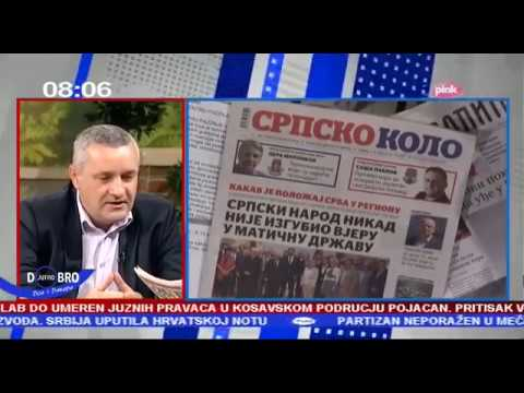 Миодраг Линта у Јутарњем програму ТВ Пинк о злочиначкој акцији Олуја