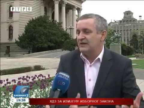 Други дневник РТРС-а у вези незаконитог брисања Срба из евиденције хрватског пребивалишта