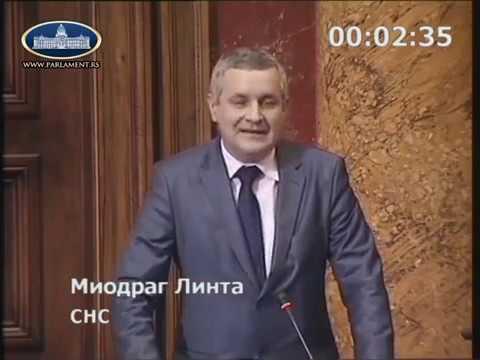 Миодраг Линтa у Скупштини Србије тражи да се омогући право откупа станова за 530 …