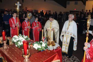 Срби прославили Божић у Чикагу