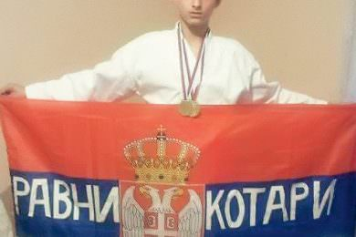 Скокна: Сањам да на Олимпијади у Токију понесем српску тробојку Равни Котари!