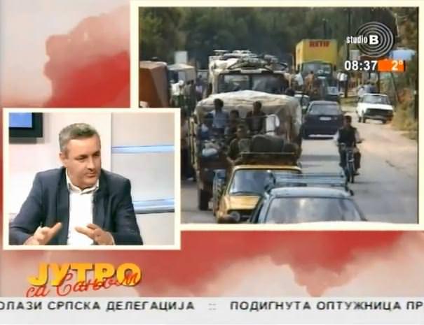 Миодраг Линта у Јутарњем програму ТВ Студио Б поводом посјете предсједника Вучића Хрватској