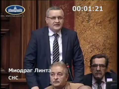 Посланичка питања Линте упућена Министарству, министарки Михајловић и министру Вулину