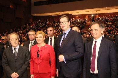 Oдржана трећа Велика скупштина Српског народног вијећа у Загребу