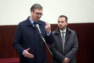 Лидери општине Гвозд задовољни посјетом Вучића Вргинмосту