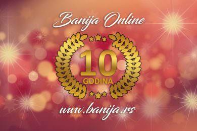 Десет година Банија Online портала
