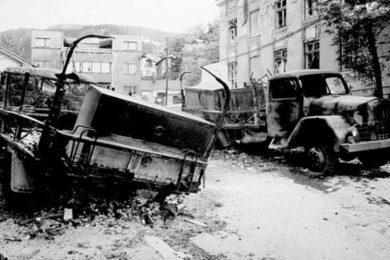 Линта: Kукавички и мучки напад на колону ЈНА у Добровољачкој у Сарајеву маја 1992. први велики ратни злочин у БиХ