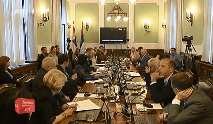 Прилог РТС-а поводом избора Миодрага Линте за предсједника Одбора за дијаспору и Србе у региону