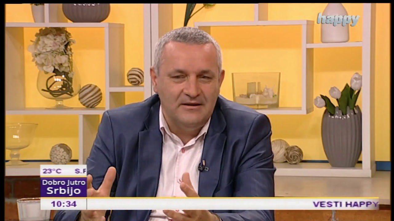 Гостовање Миодрага Линте у Јутарњем програму Телевизије Хепи