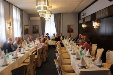 Поводом дана Херцеговачког корупуса 19. мај, у Дому Војске Србије, одржано је дружење његових старјешина и пријатеља