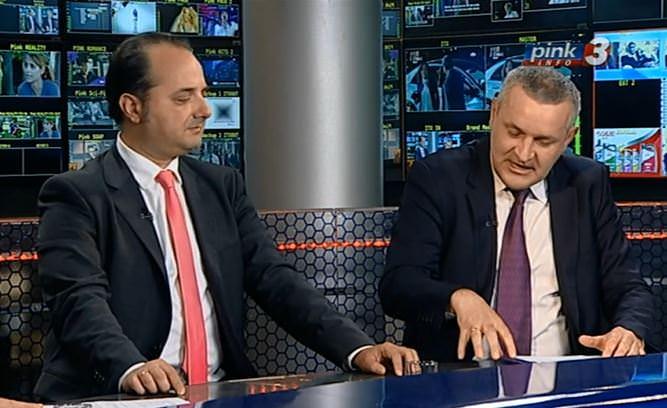 Линта и Раковић у емисији Правац на тему односа Србије и Хрватске