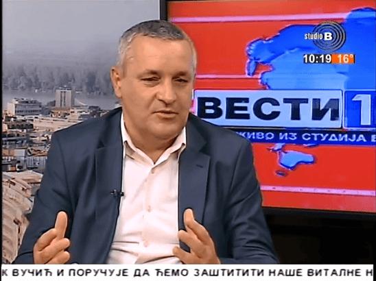 Линтa у јутарњем програму ТВ Студио Б на тему односа Србије, Хрватске и БиХ