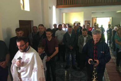 Прослављен Спасовдан у селу Кљевци, код Санског Моста