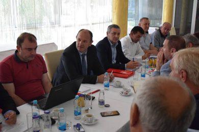 Линта присуствовао 6. јуна у Бања Луци радном састанку на тему договора око учешћа на Општим изборима у Федерацији БиХ