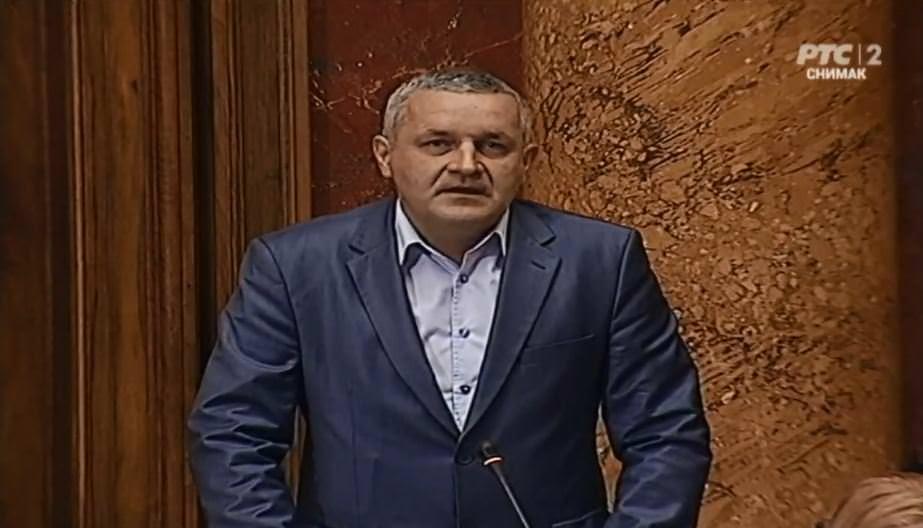 Миодраг Линта у Скупштини Србије говорио о приједлогу закона о ратним меморијалима