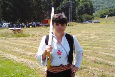 Цвијета Кнежевић – жена косац