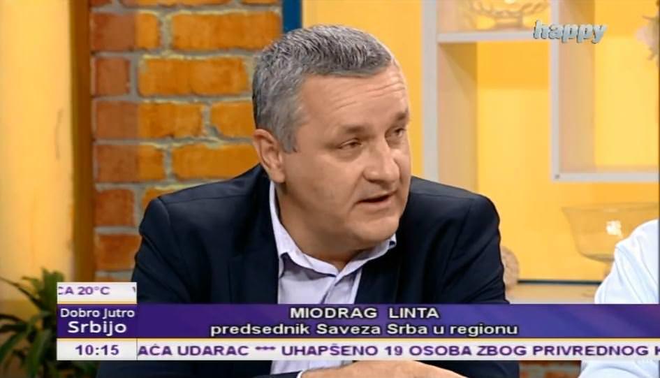 Миодраг Линта у Јутарњем програму ТВ Хепи на тему: Хрватска на Свјетском првенству у Русији