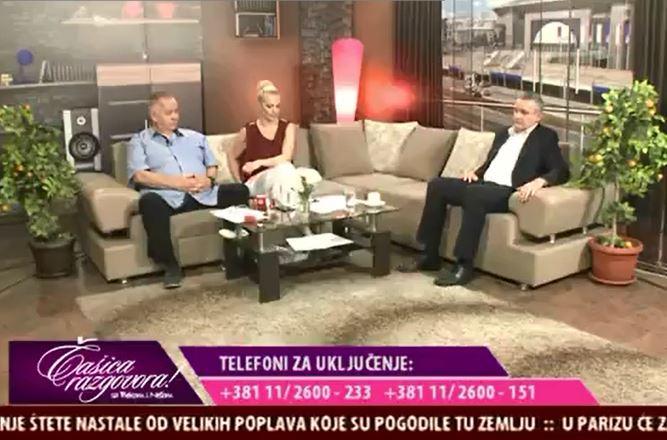 """Гостовање Миодрага Линте у емисији """"Чашица разговора"""" на ТВ Коперникус"""