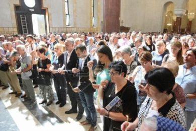 У Цркви Светог Марка у Београду служен помен жртвама Олује; Линта: Хрватска срамота