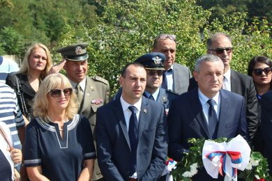 Линта на српском војном гробљу у Битољу: Срби су пробојем Солунског фронта донијели мир слободарској Европи