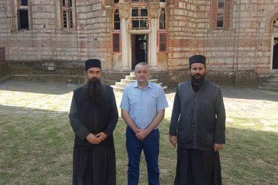 Линта посјетио манастир Хиландар