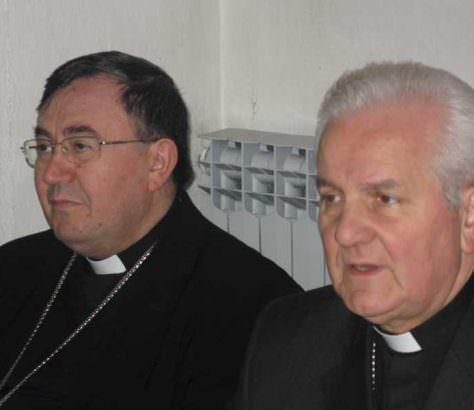F - Kardinal Puljic i biskup Komarica