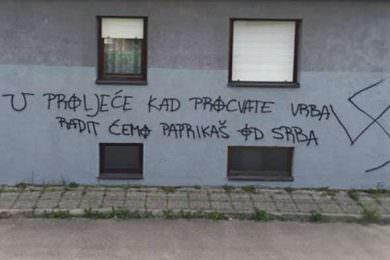 Линта: Појава новог графита потврда да усташтво има јак коријен у хрватском народу