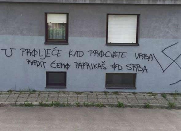 F - uvredljiv grafit