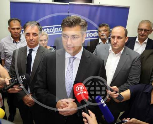 MILORAD PUPOVAC, ANDREJ PLENKOVIC